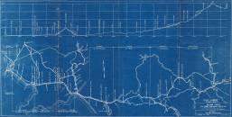 Profilo e planimetria della linea Napoli-Battipaglia-Potenza